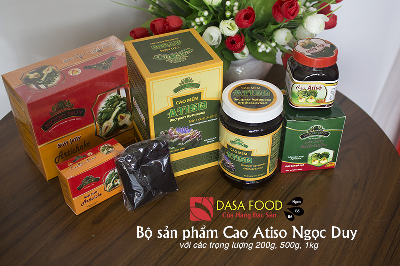 Bộ sản phẩm Cao Atiso Ngọc Duy